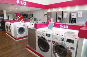 LG shop-in-shop