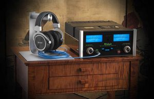 McIntosh MHA150 Table USB with MHP1000