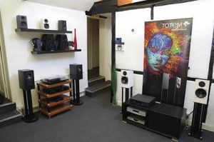 Other brands on offer include Rega, Totem Acoustics and Graham Audio