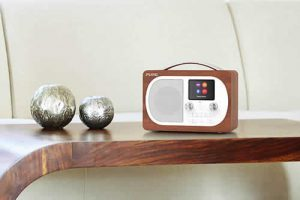 Pure Evoke H4 portable DAB/DAB+ and FM radio with Bluetooth and full colour display