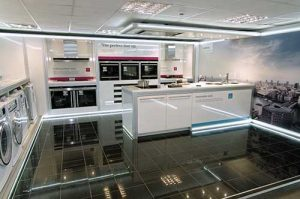 Aspirational displays are key. This is from Siemens