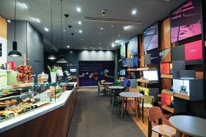 Microsoft's Digital Eatery in Berlin