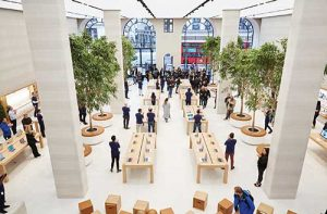 A familiar name when it comes to experiential retail. The Apple Store on London's Regent Street was designed by Foster + Partners
