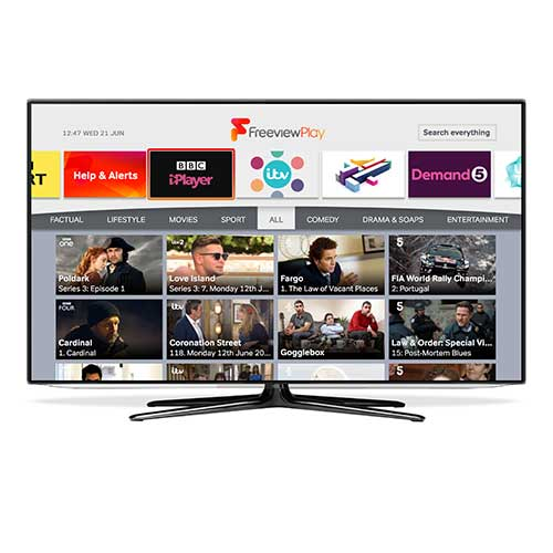 Freeview Play launches Explore function