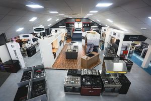 BIKA showroom boasts 20,000 square feet of floor space