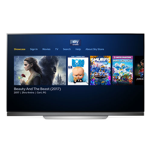 LG to offer Sky Store on its smart TVs
