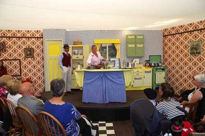 Kenwood cookery demo at Goodwood Revival