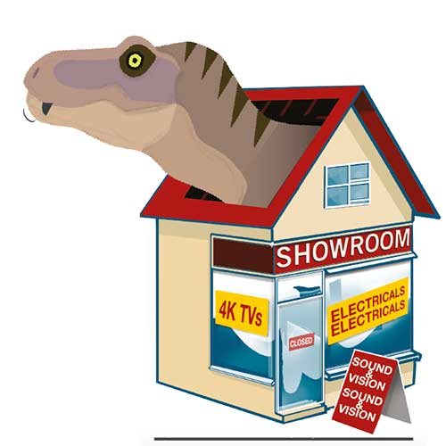 Don't be a retail dinosaur