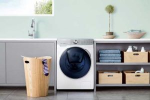 Samsung WW880M washing machine with QuickDrive technology