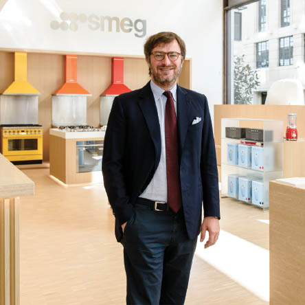 Smeg: 'This is a worldwide destination store'