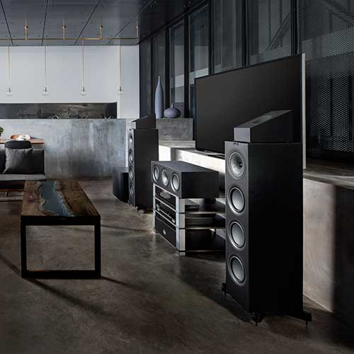 HOME ENTERTAINMENT TRENDS: Kef