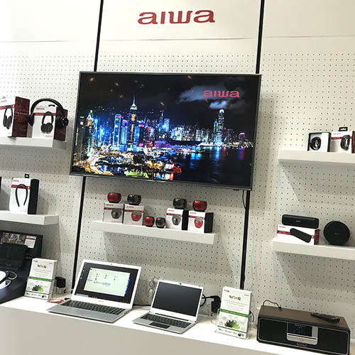 Aiwa brand back in the UK
